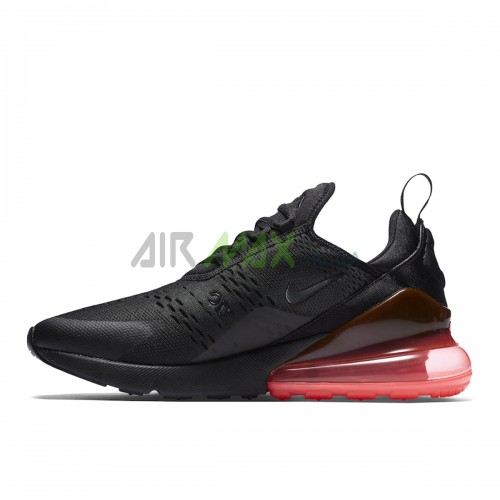 AH8050-010 Air Max 270 Black Hot Punch