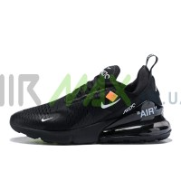 Air Max 270 x Off White Black AH6789-201