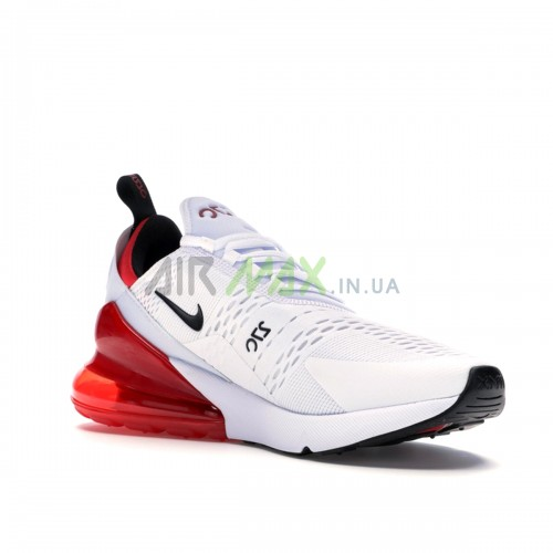Air Max 270 White Black University Red BV2523-100