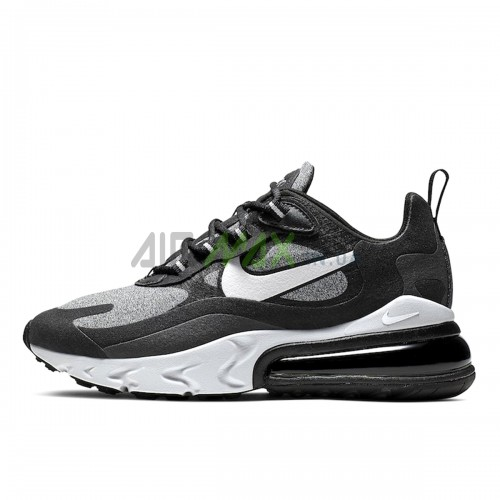 Air Max 270 React Black Vast Grey Off Noir AO4971-001