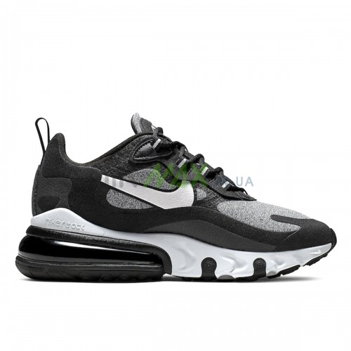 AO4971-001 Air Max 270 React Black Vast Grey Off Noir