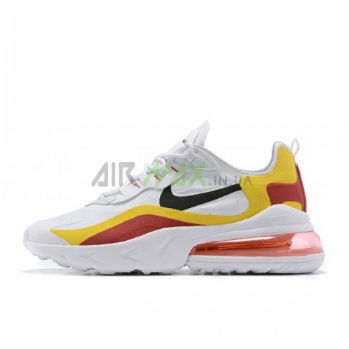Air Max 270 React White Red Yellow Black CIU014-111