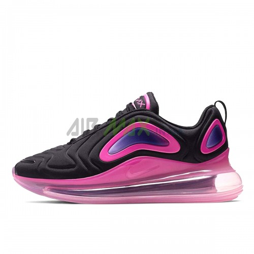 Air Max 720 Black Laser Fuchsia AO2924-005