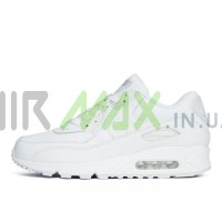 Air Max 90 Leather White 302519-113
