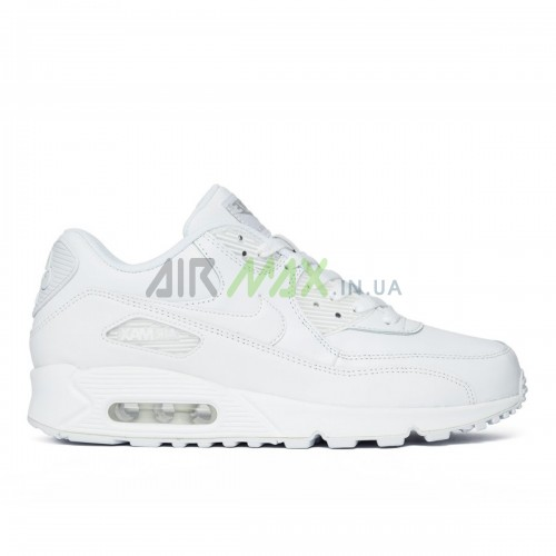 302519-113 Air Max 90 Leather White