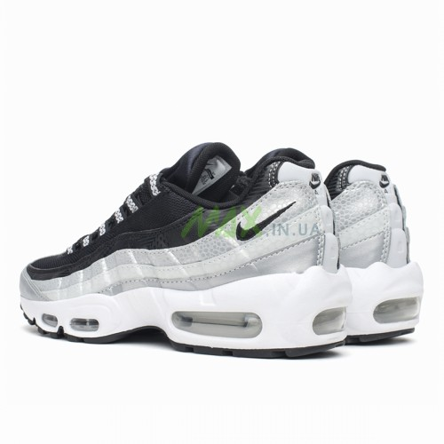 Air Max 95 QS Platinum Black Grey 814914-001