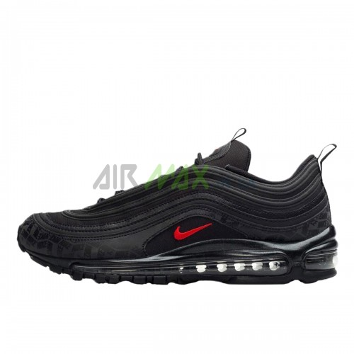AR4259-001 Air Max 97 All Over Print Black