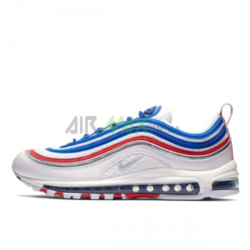 921826-404 Air Max 97 Game Royal Silver University Red