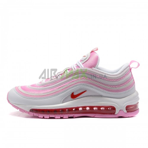 Air Max 97 GS Pink White 313054-161