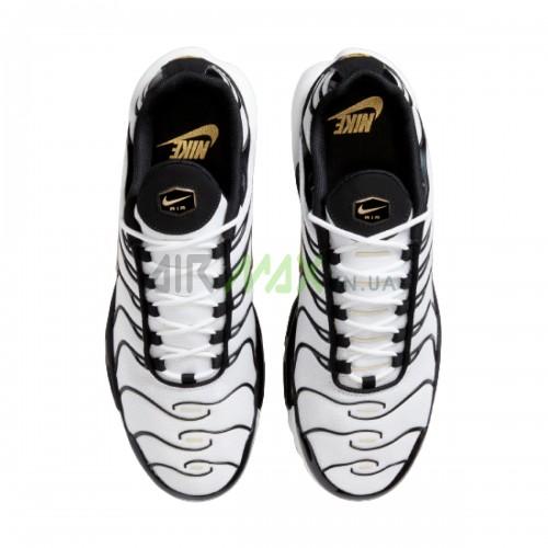 Air Max Plus White Black Metallic Gold CZ9188-001