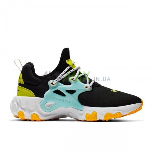 React Presto Black Teal Tint Cyber CJ0554-001