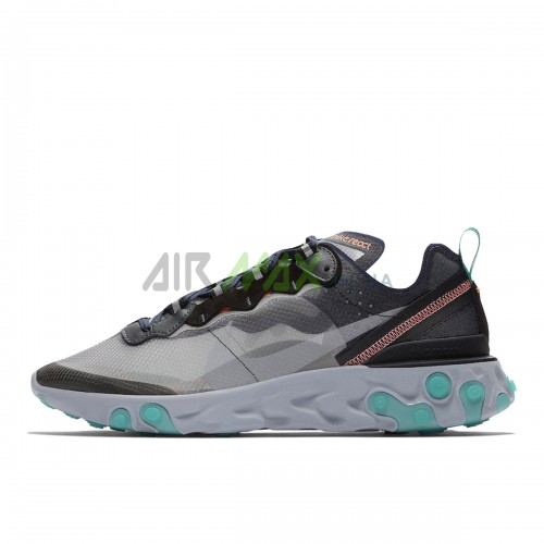 React Element 87 Black Neptune Green AQ1090-005