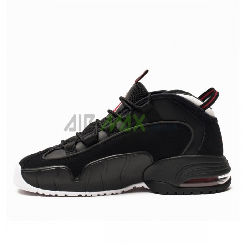Air Max Penny Black White Red 685153-003
