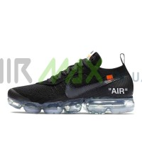 Air Vapormax Flyknit x Off White Black AA3831-002